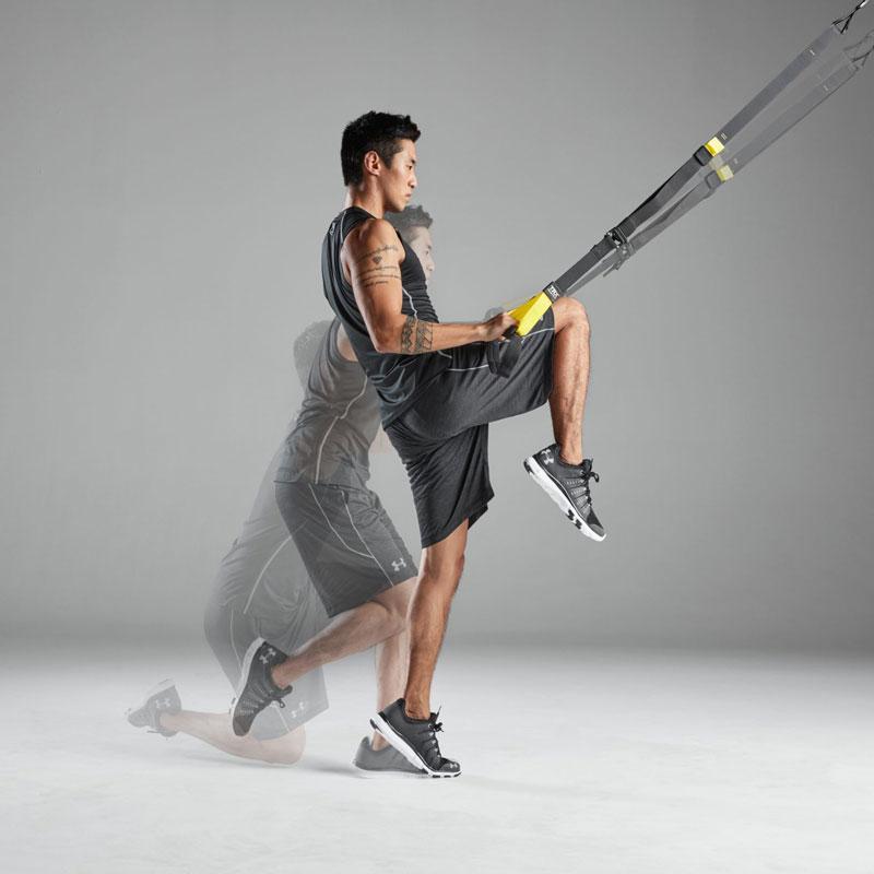 میتوان اغلب حرکات ورزشی رشتههای مختلف را با طنابهای تیآرایکس هم انجام داد.