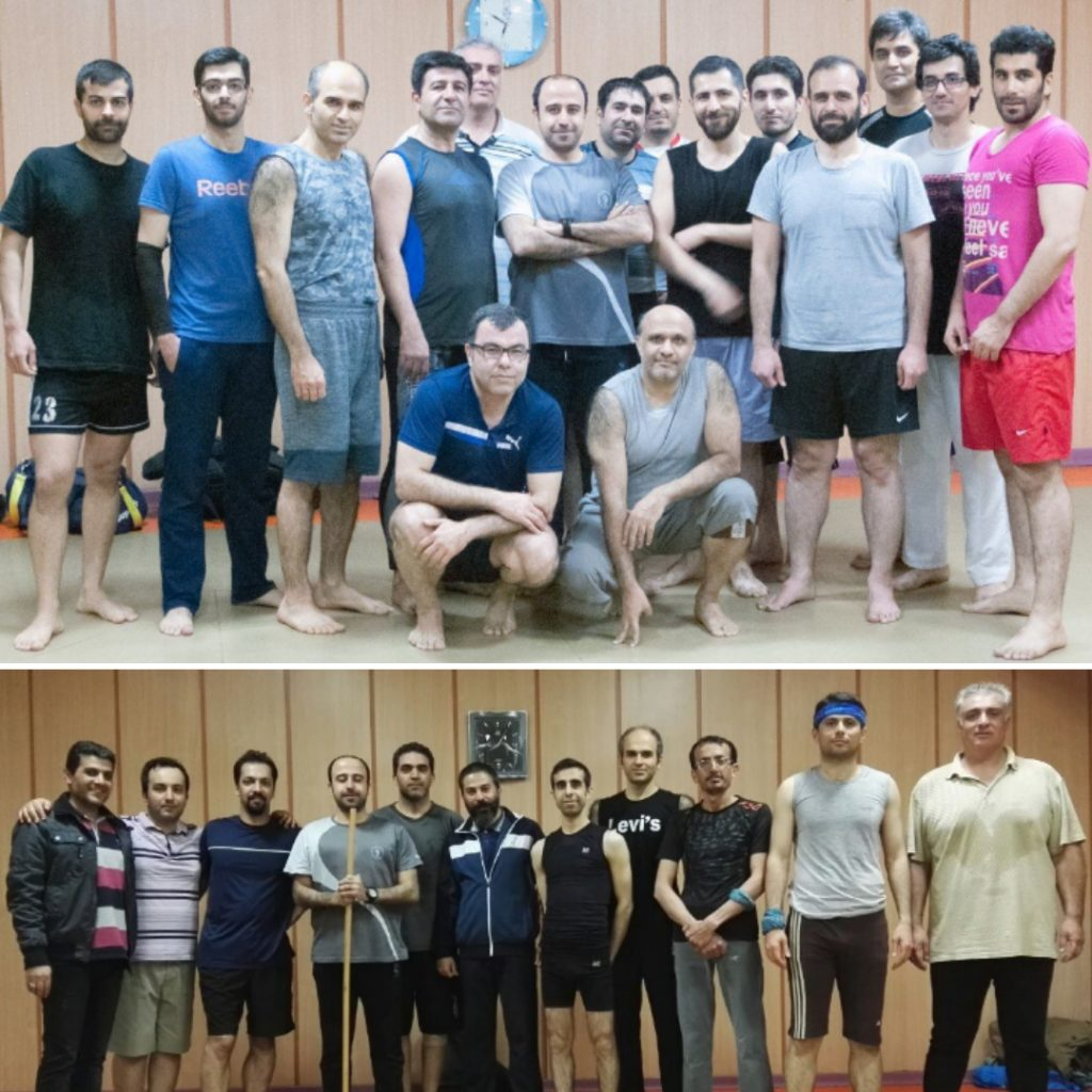 باشگاه پیلاتس آقایان در مجموعه ورزشی آب تهران مربی حسن موسوی
