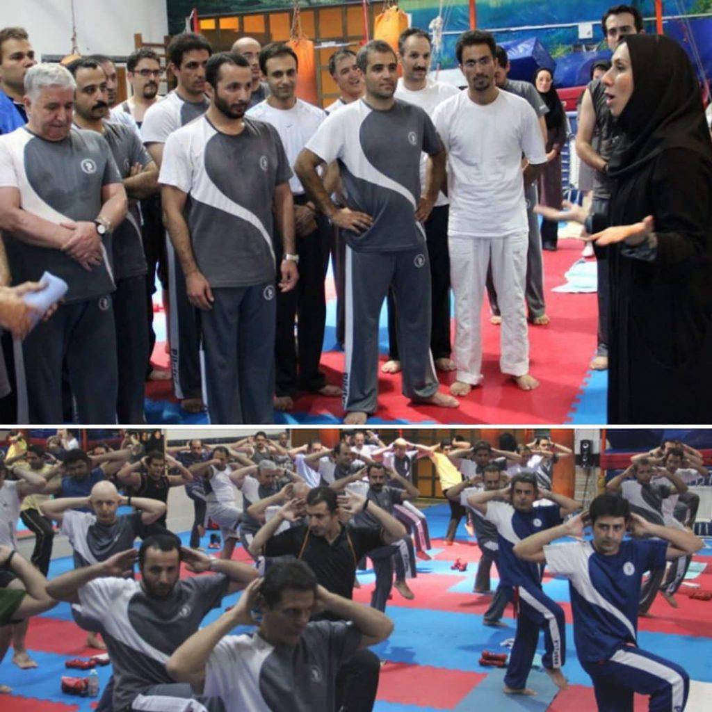 باشگاه پیلاتس آقایان درمجموعه ورزشی زیتون تهران مربی مرتضی شفیعی